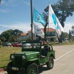 Cada vez más lindo nuestro jeep luciendo la @lista71 por Municipio E sur y todo Montevideo @GustavoPenades @VArlegui http://t.co/MXGEs0cTd9