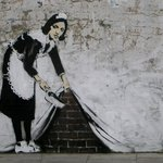 RT @highsnobiety: It turns out that the arrest of Banksy today was a hoax, find out more: http://t.co/kiykM0uwOu http://t.co/Pp8aE7P5lM