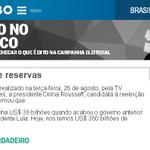 Reservas do Brasil- com FHC: US$ 38 bilhões; com Dilma: US$ 380 bilhões. VERDADEIRO http://t.co/1eznzUm8Xc #Aecio45 http://t.co/6BFkQshl1Q