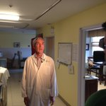 Dr. Marc Blayney was interviewed today by @CTVAtlantic re: HTHS #TrojanTrek & their support of the NICU at TMH. http://t.co/iYO7bdML1e