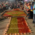 Diwali celebrations at PTI sit-in #Islamabad. Appreciated. Concrete steps must be taken to protect minorities. http://t.co/Fse0FRi7tS
