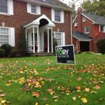RT @flanaganryan: Spotted by @FrankLynnCTV, an unexpected lawn sign in Waterloo: #topoli #wrvotes http://t.co/i7QZXXeseY