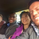 We hailed a cab in West Village! @blinfisherABJ @NolanTerrel @thestile1972 #akron2detroit http://t.co/IDMZmQXy4r