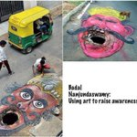 RT @thenewsminute: Here's how some frustrated Indians are protesting creatively against potholes