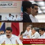 RT @tmaniglia: ALBA-TCP el ejemplo de UNIDAD, coordinación y acción para enfrentar y superar problemas http://t.co/526ou5khd1