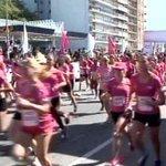 Se corrió la carrera 5K McDonalds para mujeres en Montevideo. VIDEO http://t.co/J6VGnjxDOF http://t.co/jQBuIvt6j2