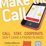 A campaign reminds Indiana college students of the states Lifeline Law. http://t.co/cCZZXOjVNU http://t.co/P96z48JB2a