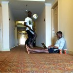 RT @TimbersFC: Life on the road. @PMKAH and @ivan_george6 with some downtime ahead of training this afternoon. #HondurasAway #RCTID http://t.co/wBQ5ssbriC