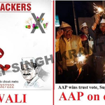 """Say """"No"""" to Bakra on Bakra Eid I will always vote for @AamAadmiParty if it dares to say so #KejriwalFirSe #KejriKaun http://t.co/Wnz2xF7RkJ"""