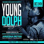 TONIGHT @YoungDolph WILL BE PERFORMIN Live @ Arizona Petes After The Stepshow Music By @DjPhaLseiD #Ghoe #PULLUP http://t.co/cJILdJzomE