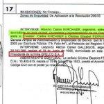 Así que Echegaray afirma que Cristina no es socia de Lázaro... http://t.co/KDbasnzqzM