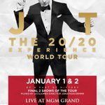 Ending #JT2020Tour with a bang, in #Vegasbaby. (@THETNKIDS/@MasterCard Presale tomorrow http://t.co/bBhAXbZxAa) http://t.co/qaaTewJMnS