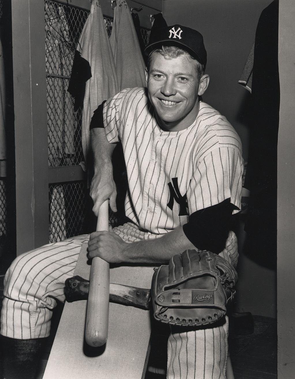 RT @Yankees: Oct. 20, 1931: Mickey Charles Mantle, the greatest switch-hitter in baseball history, is born in Spavinaw, Oklahoma. http://t.co/T9wYXEDs32