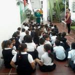 20O Charla sobre el Chikungunya para los estudiantes del Colegio Mis Encantos @SaludChacao http://t.co/iA5VN9vQH6