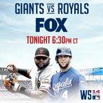 RT @FSKansasCity: Tonight. #WorldSeries coverage starts at 6:30 CT on @FOXTV. #Royals #BeRoyalKC #TakeTheCrown http://t.co/GEbaj0gKYw