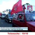 RT @jgamorin: Solamente GRACIAS a todos en #la15 por su trabajo en la Caravana. Orgulloso del trabajo #La15eselCamino ¡Viva Batlle! http://t.co/6Sooi633iM
