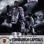 RT @Braehead_Clan: NEXT HOME GAME: The top of the table Clan, face the @edcapitals this Saturday at @intuBraehead #Glasgow #JoinTheClan http://t.co/WFhBe26tKC