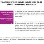 RT @arelyfigueroa17: #FideturInforma da a conocer q @viajaVolaris operará nuevos vuelos a #Acapulco desde #DF y #Monterrey @JavierAluni http://t.co/Nr8zQzAo4U