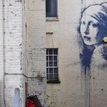 Hes not arrested, but he has been busy... New Banksy mural appears in Bristol http://t.co/pAVZ6WhbL0 (Pic: Banksy) http://t.co/7PWfrYqwSH