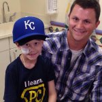 RT @MLBFanCave: ICYMI: @JoeTorre is sending a young @Royals fan battling cancer to the #WorldSeries: http://t.co/sGQrCmo4N2 http://t.co/J5Ozq41DsV