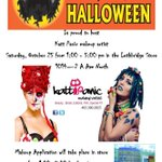 Face painting fun at @spirityql on Oct 25, 1-5pm with @katt_panic for a donation to Alberta Childrens Hospital #yql http://t.co/a4Ehg86uuF