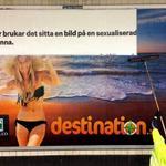 .@Kvinnolobbyns senaste kampanjaffisch täcks över med ny reklam. Inga ord behövs. http://t.co/UfBJ8CcnkO #reklamera http://t.co/FaAlwVby0j