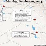 RT @Military_Edge: Airstrikes Continue Against ISIS in Syria & Iraq http://t.co/7DJRkdonRS @CENTCOM Map via @BridgetMoreng & @PatMegahan http://t.co/euJYBV6jWj