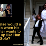 Dads, what would you do if your daughter wanted to be Han Solo for Halloween? @starwars http://t.co/yY1Q4n3KEJ