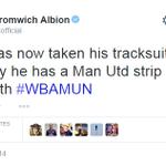 RT @BBCSport: West Brom 1-1 Man Utd. WBA will be regretting their half-time tweet. Live @bbc5live http://t.co/oUvCakGK49 #wbamun http://t.co/1KVHh4h3w2
