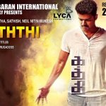 #KATHTHI worldwide in 2000 screens. A treat for you all this Deepavali. #Vijay http://t.co/asVn4yAgQ2
