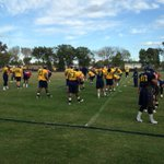 .@NCATAGGIES on the practice field preparing for Saturdays homecoming game vs. Florida A&M @WFMY http://t.co/5ciG4e0LoO