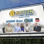 RT @UKAthletics: SEC Nation is coming to town this weekend, #BBN. Make plans to be in the Purple Lot at 9 a.m. for the 10 a.m. show. http:/…
