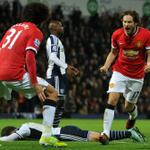 RT @SportsCenter: Daley Blind scores in 88th minute as Manchester United draws vs West Brom, 2-2. Saido Berahino scores again for WBA. http://t.co/hTZGQ7epuL