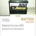 @anat5 corroborado Camarada no hay baterías en las distribuidoras .claro mirarlas donde estan @NicolasMaduro http://t.co/bvQJ7sJWCC
