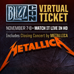 You won't want to miss this: @Metallica is playing the closing concert at #BlizzCon! http://t.co/TAdNXpmkaI http://t.co/Uj2GYJZuiW