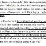 """RT @KellyScaletta: More from the Kobe piece. This is Steve Nash and people in the Lakers org talking, not """"haters."""" http://t.co/rYzwDYphNr"""