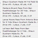 A crazy finish to the first half gives Pittsburgh a 24-13 lead over Houston.  Heres what happened in 2:54: http://t.co/XakVgVobl0