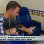 RT @SFGate: Boy, 6, with bone cancer is on his way to the #WorldSeries. http://t.co/zuYyNfmmYX #SFGiants #Royals http://t.co/D4OS62j8Cf