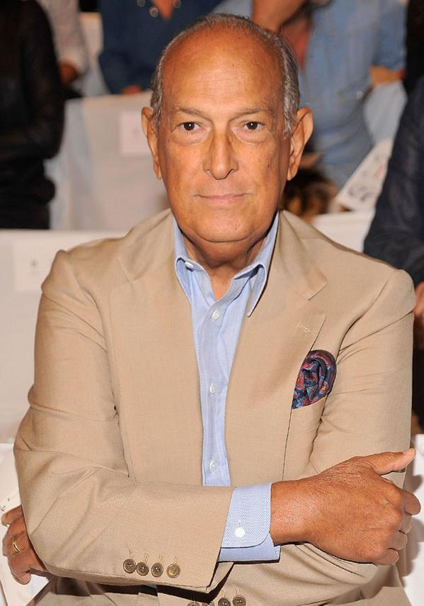 RIP Oscar de la Renta. So sad to learn of the fashion icon's passing: