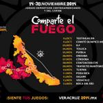 Sigue el fuego de los @JVeracruz2014 que estará viajando por estas ciudades. #DF #Puebla #Xalapa #Veracruz http://t.co/dbcLjcS9mn