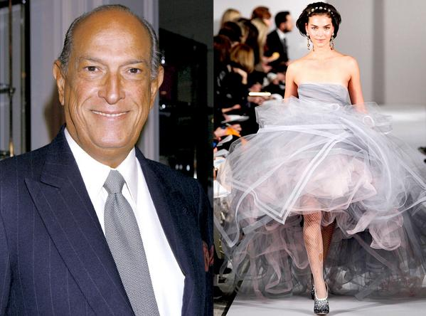 RIP Oscar de la Renta-remembering the legendary designer's stunning