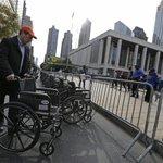 Klinghoffer protests heat up ahead of Met Opera opening http://t.co/YnLm0XjdYQ http://t.co/AInYGEW07d