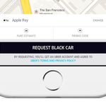 RT @Uber: Riding with Uber just got easier. Introducing one-tap sign up & ride with #ApplePay: http://t.co/sbsIGtMz9R http://t.co/59CJxxE0M1