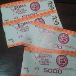 #QuieroLasEntradasDeSentimientoGranate dos pares para SOCIO en el duelo de mañana ante Cerro Porteño. http://t.co/C3BnFUIIr1