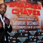 """Timothy Bradley presentó su pelea con Diego """"La Joya"""" Chaves. 13 de diciembre, Cosmopolitan de Las Vegas http://t.co/Pp4De33sjH"""