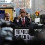 "Rudolph Giuliani denounces ""The Death of Klinghoffer"" (Photo: Hiroko Masuike/NYT) http://t.co/VXQsvZynfa http://t.co/CfD9YJhgH0"
