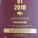 Ya comenzó programa de encuadernación y empastado de Registro Civil implementado por alcalde @LuisWalton @AcapulcoGob http://t.co/3Hc3o5xpNz