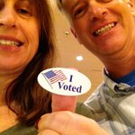 My parents voted early today for @WendyDavisTexas! So happy right now! @bobquillin #MyTexasVotes http://t.co/zOoOf0IATx