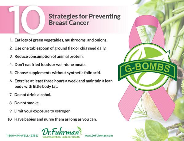 10 Strategies for Preventing Breast Cancer  http://t.co/WRjUvkaF00 #breastcancerpreventionmonth http://t.co/eiRpgidfjH