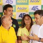 RT @AecioNeves: Aécio com o candidato à reeleição ao governo do Pará, @sjatene45, Fafá de Belém e o ex-jogador @Ronaldo #Aécio45 http://t.co/8vJOjS6X7E